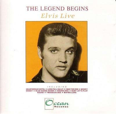 The Legend Begins - Elvis Live